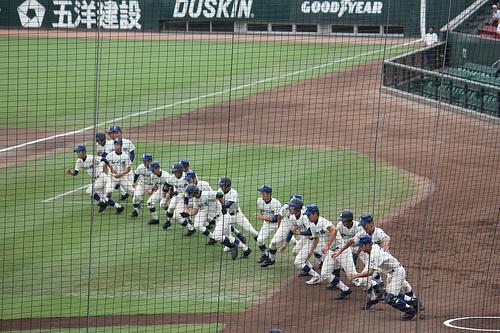 この画像は、サイトの記事「高校野球 秋季 中国地区高等学校野球大会 動画集 YouTube無料視聴映像まとめ!」のイメージ写真画像として利用しています。