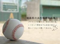 高校野球, 全国高校野球選手権大会, 野球, スポーツ, 動画, 映像, 無料, 視聴, 紹介, まとめ, おすすめ, 福島県大会